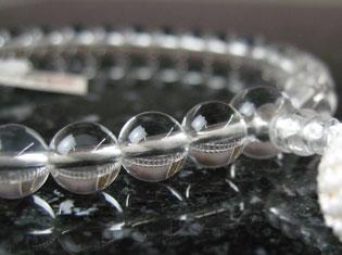 女性用数珠(京念珠)本水晶 8mm玉仕立の通販・販売