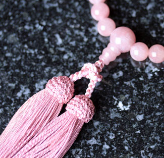 女性用数珠(京念珠)ストロベリークオーツ の通販・販売