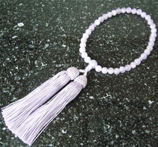 女性用数珠(京念珠)藤雲石/共仕立の通販・販売