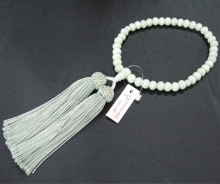 女性用数珠(京念珠)翡翠/共仕立の通販・販売