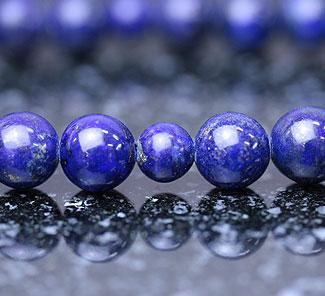 男性用数珠(京念珠)ラピスラズリ(瑠璃)共仕立の通販・販売