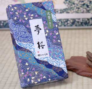 線香 夢桜・沈香の香り 通販・販売