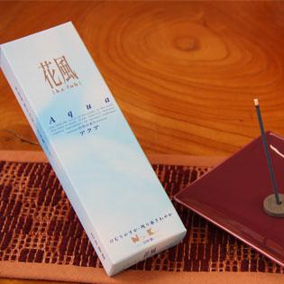 お供え用線香/進物線香 花風セット(ラベンダー・アクア・白梅・桧)の通販・販売