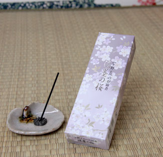 お供え用線香/進物線香 薄墨桜・桜の香りセットの通販・販売